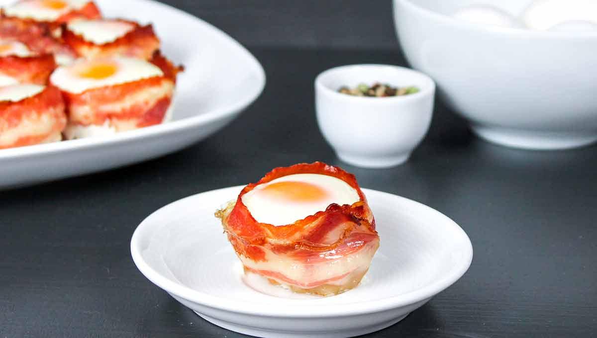 Bacon und Egg Muffins