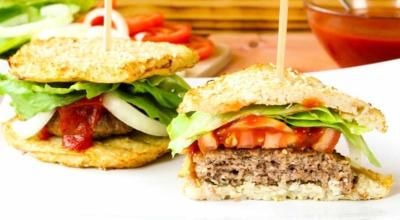 Blumenkohl Burger