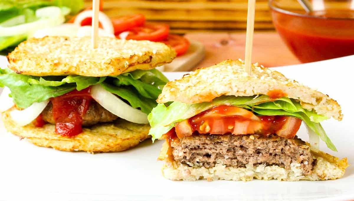 Blumenkohl-Burger