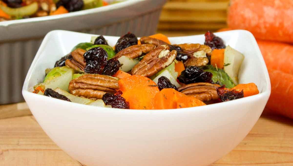 Festtags-Gemüse