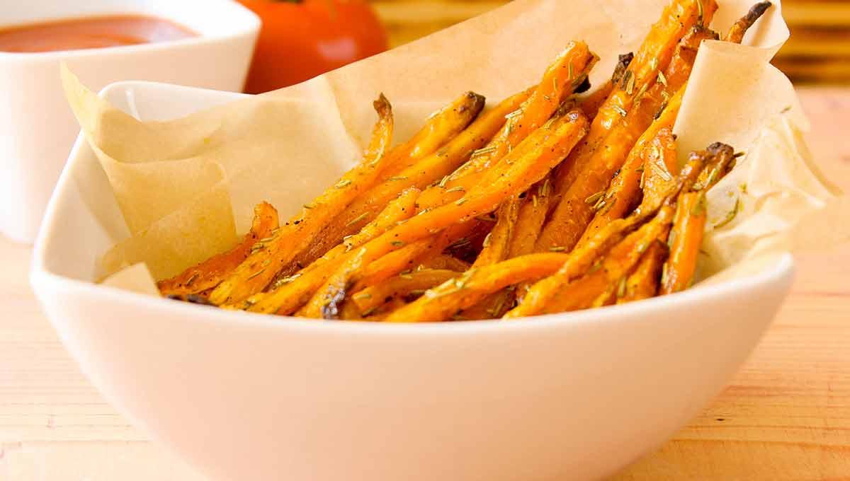 Knusprige Karotten-Pommes