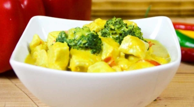 Kokos Curry Hähnchen
