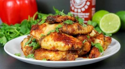 Limetten Chicken Wings