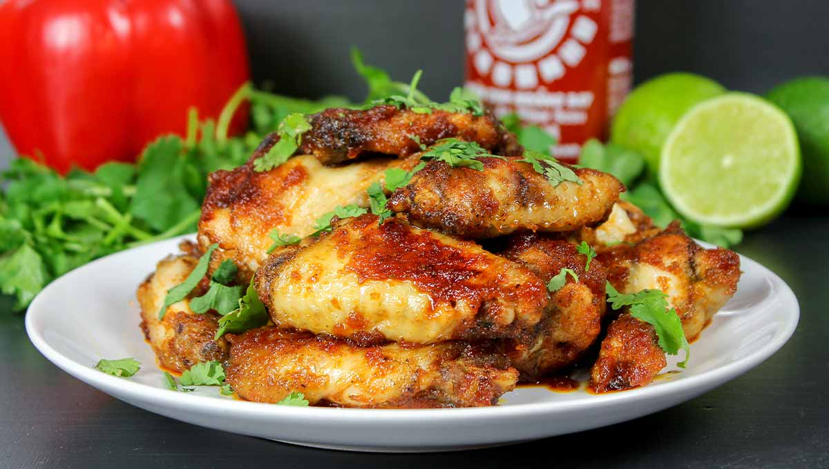 Limetten Chicken Wings