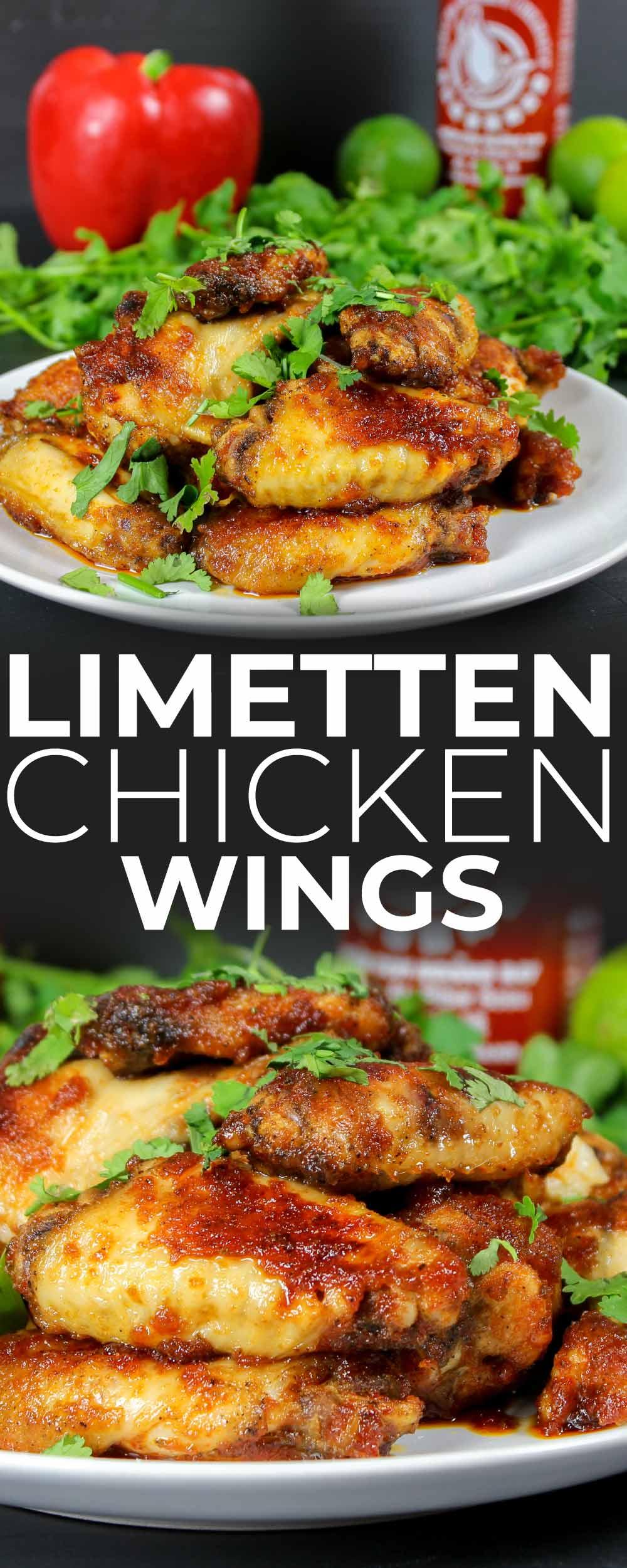 Limetten Chicken Wings Pin