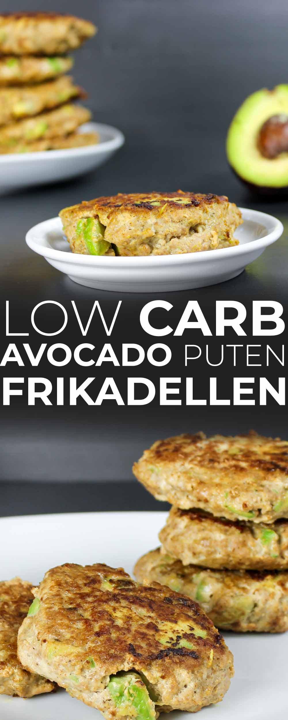 Low Carb Avocado Puten Frikadellen