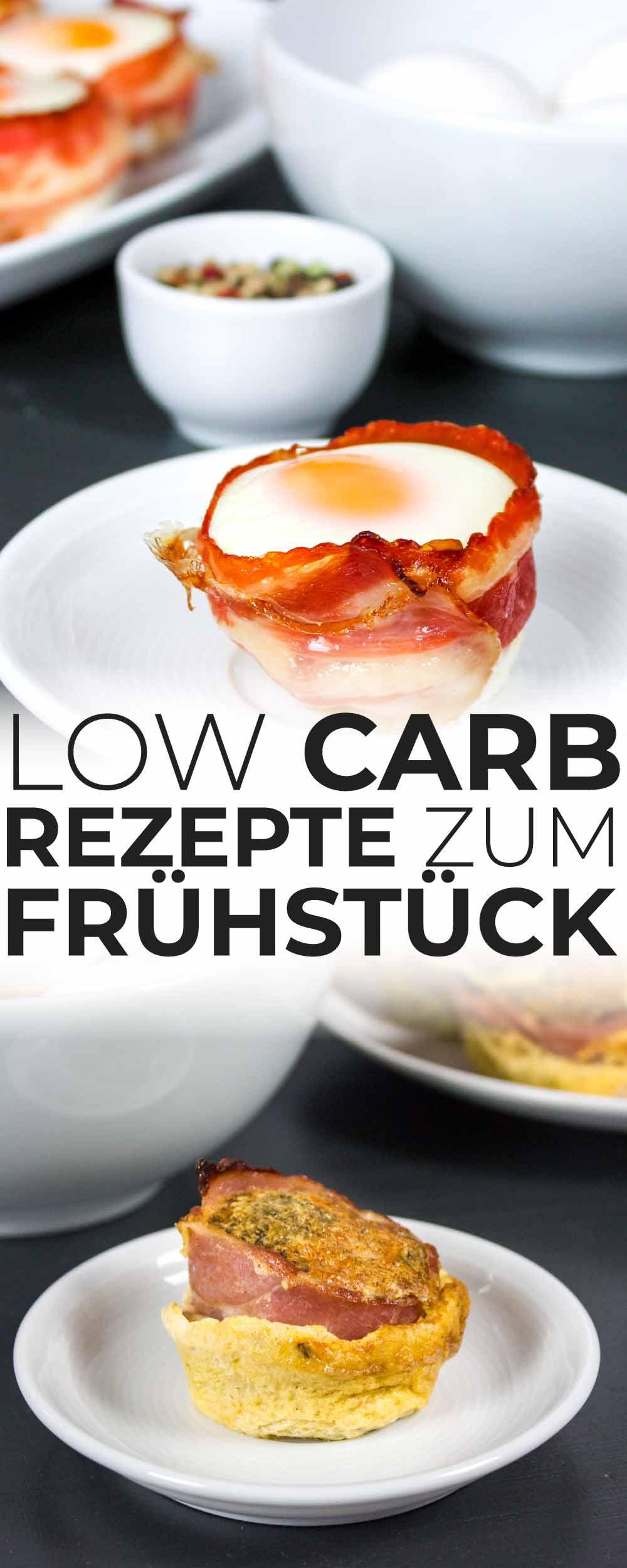 Rezepte zum Low Carb Frühstück