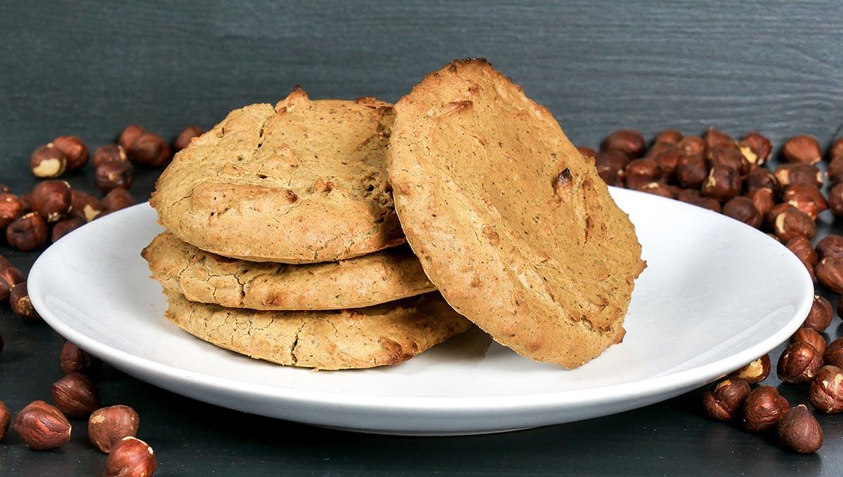 Erdnuss-Kekse ohne Mehl