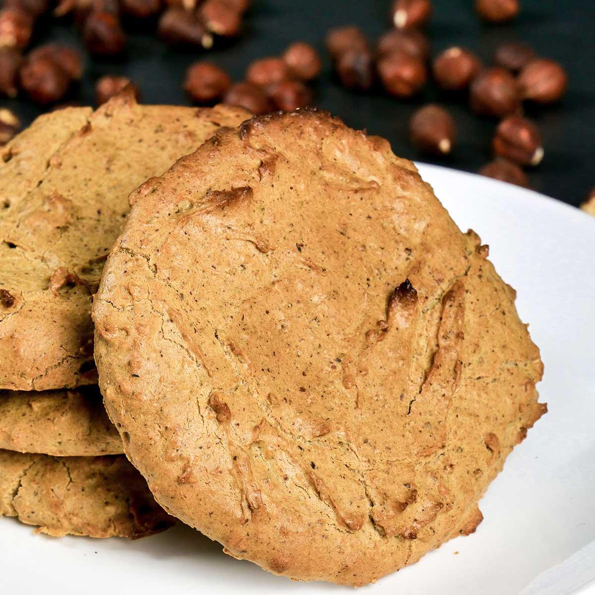 Kekse ohne Mehl Nahaufnahme