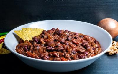 Herzhaftes Chili sin Carne